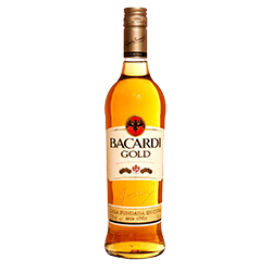 Bacardi Gold Rum -75CL