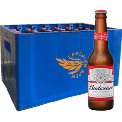Budweiser -37.5CL (x24Bottles)